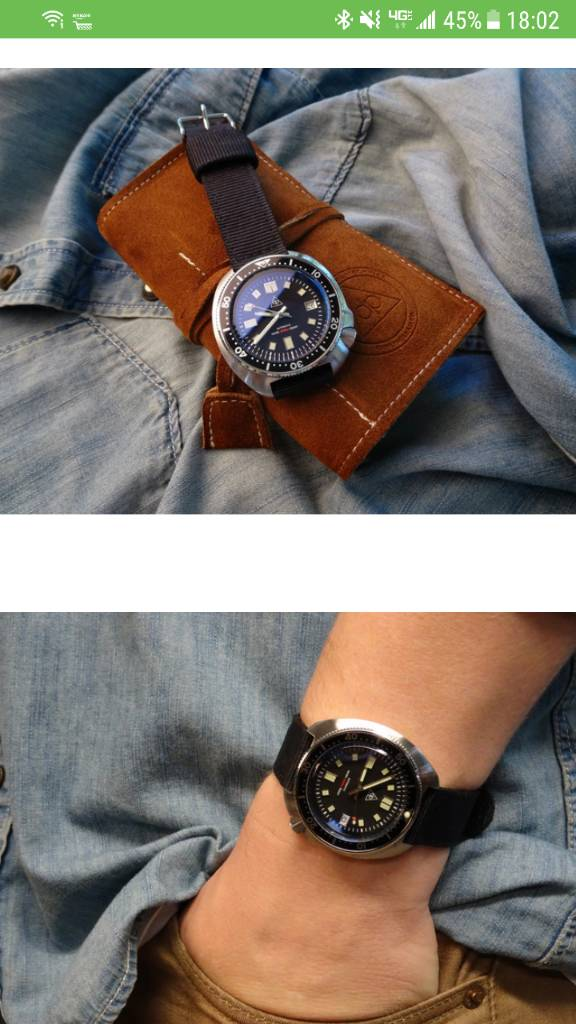 Review Shark Brand Tribute To 6105 8110 Page 2 Watchuseek Watch Forums