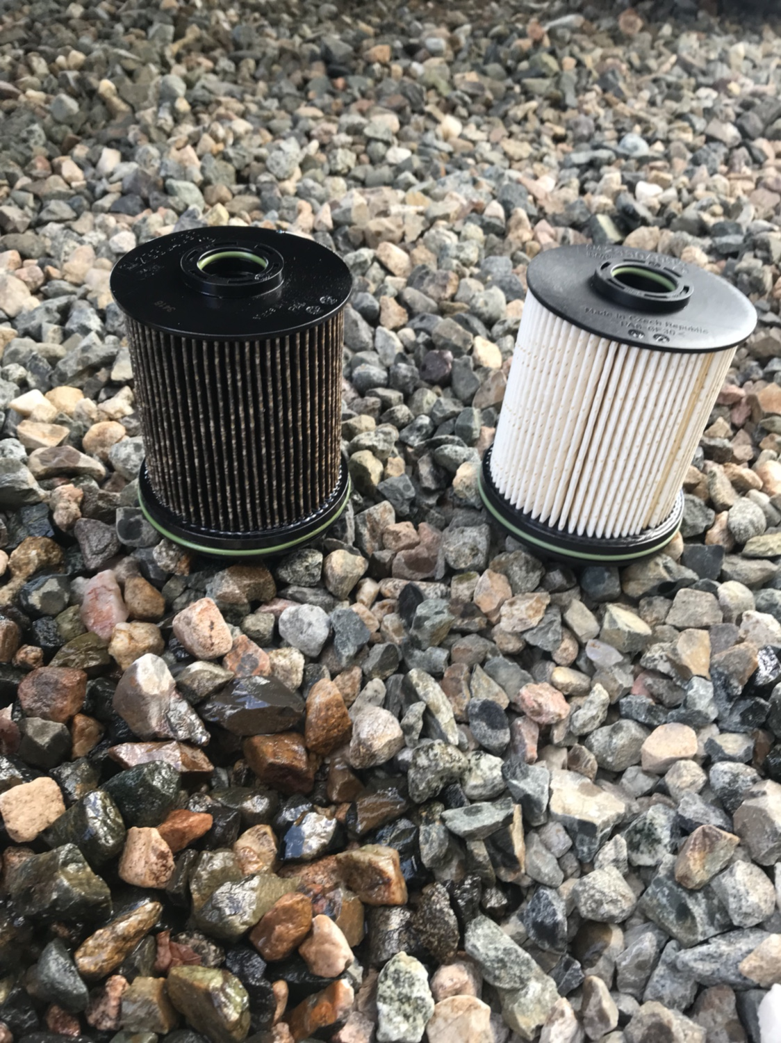 L5P fuel filter @ 10k miles - Chevy and GMC Duramax sel Forum  Chevy Duramax Fuel Filter Housing on