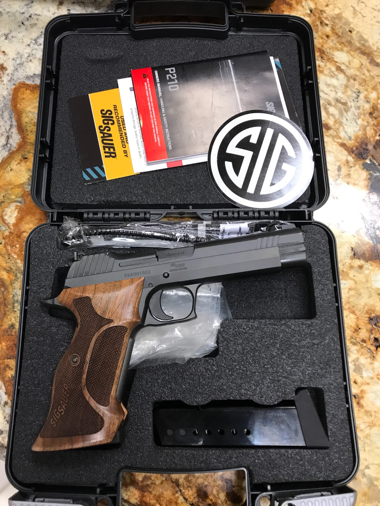 Sig Sauers Made In America P210 Pis - Frank Electronics