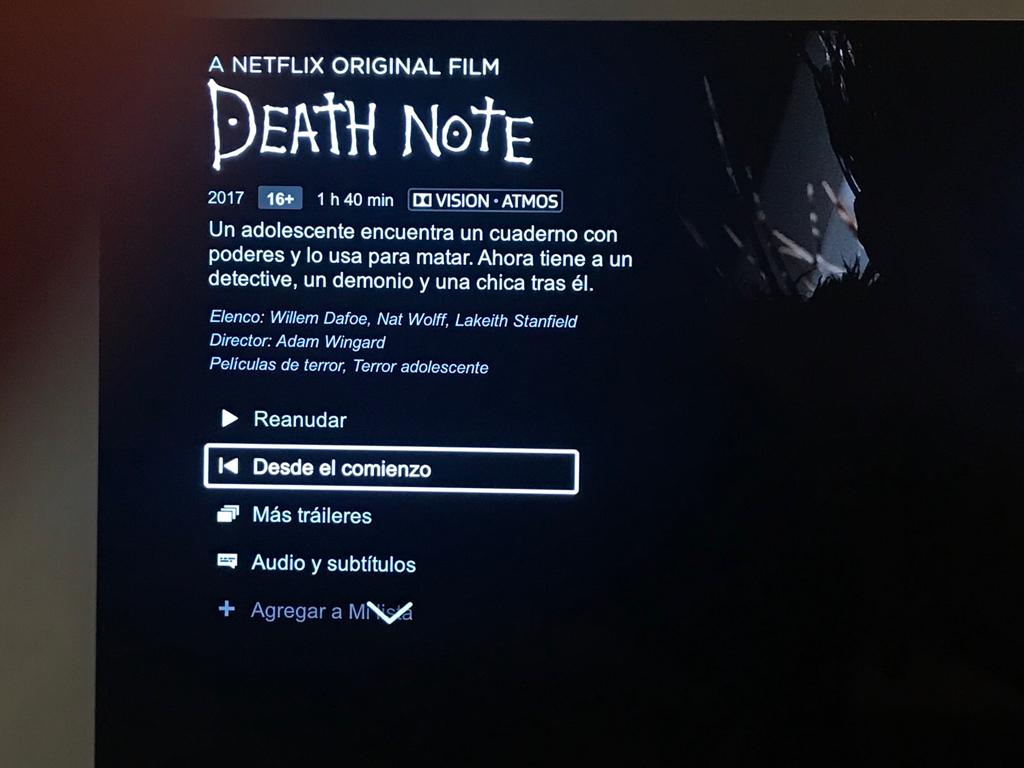 Netflix atmos support