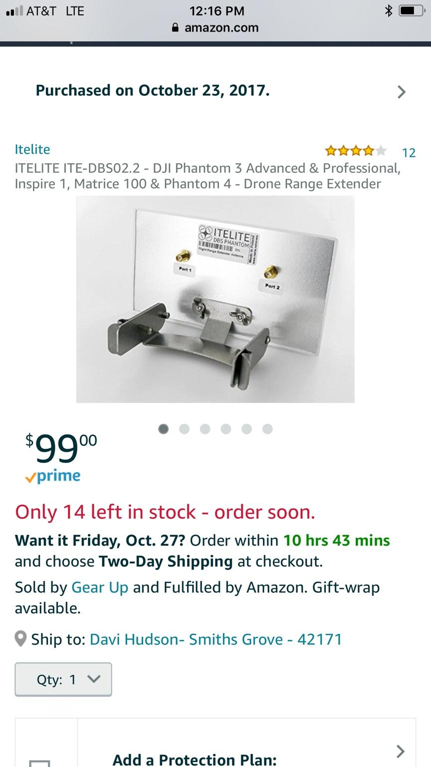 What range extender to buy   DJI Phantom Drone Forum