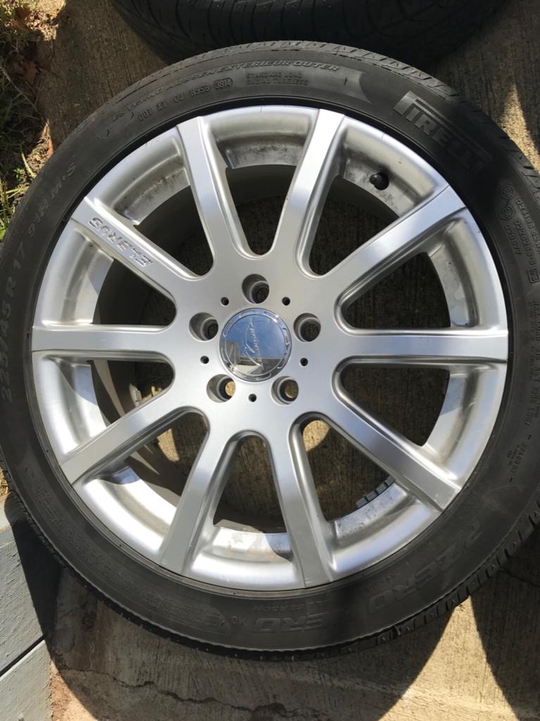 Best Snow Tires >> VWVortex.com - Elbrus I05 17x7.5 Wheels and Tires