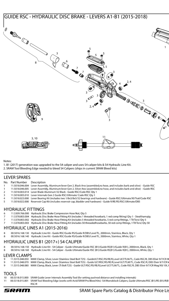 Guide RS Levers not Returning: Replaced Under Warranty - Page 3