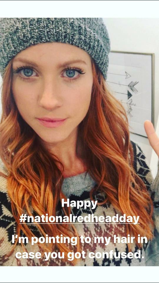 It's National Redhead Day | IGN Boards
