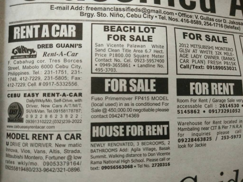 6525bf2d811722b17d16dd425ea3e1fd - Beach Lot for Sale in Cebu, Philippines - Free Advertisement