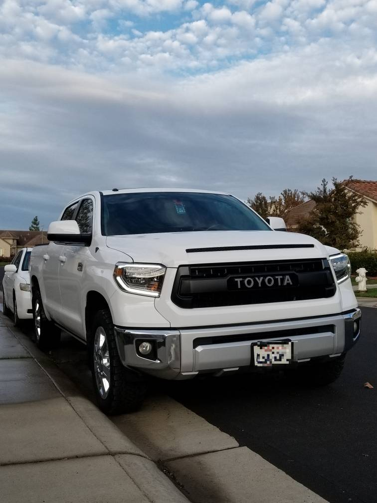 1794 Toyota Tundra >> 2015 Toyota Tundra 1794 with Pro Grille and 2018 Black ...