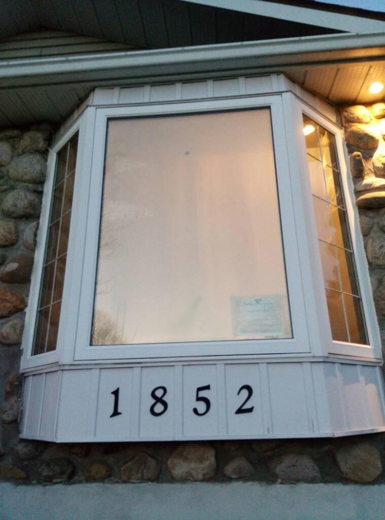 Remplacer vitre baie window - Fenetre baie window ...