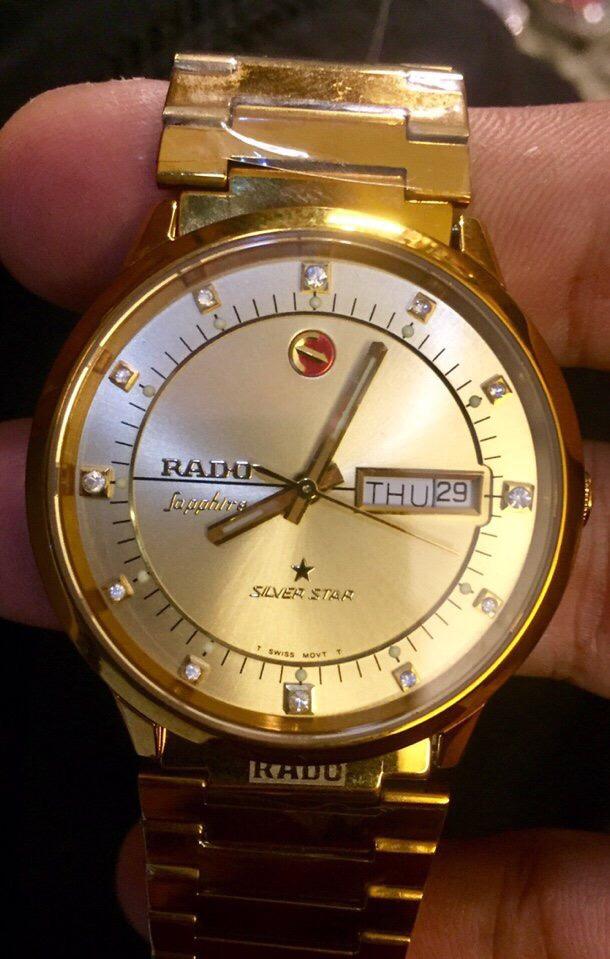 Đồng hồ RaDo chính hãng Thuỵ Sĩ bảo hành 12 tháng