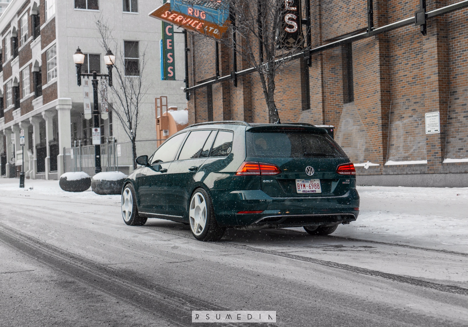 Vwvortex Com Mk7 5 Peacock Green 4motion 6mt Build