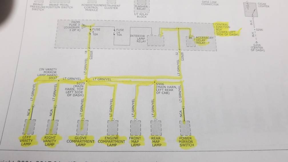 short 4 fuse interior fuse box wiring diagram page 2. Black Bedroom Furniture Sets. Home Design Ideas