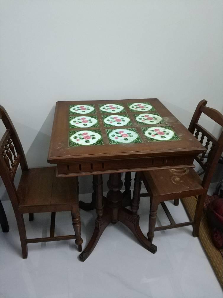 Bộ bàn ghế cổ