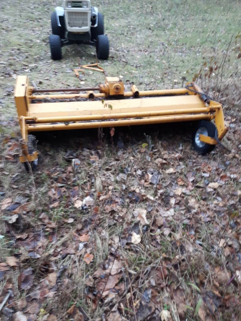 Large Frame Mott Flail Mower - MyTractorForum com - The