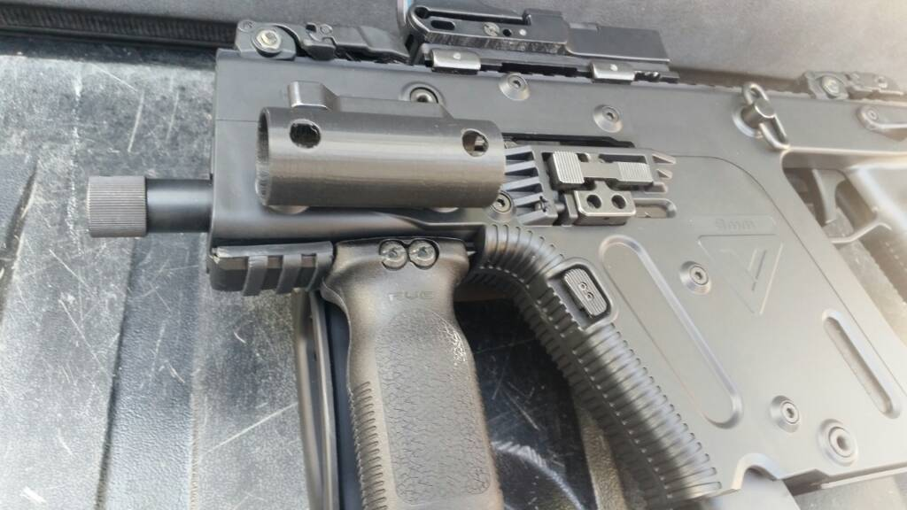 NC - Kriss Vector Gen2, 9mm, Folding Arm Brace