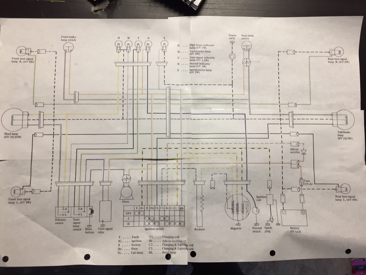 Wiring Diagram On Harley Ignition Switch Wiring Diagram On 7 Pin