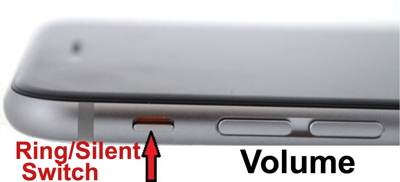 iphone 6 ringer volume keeps popping up