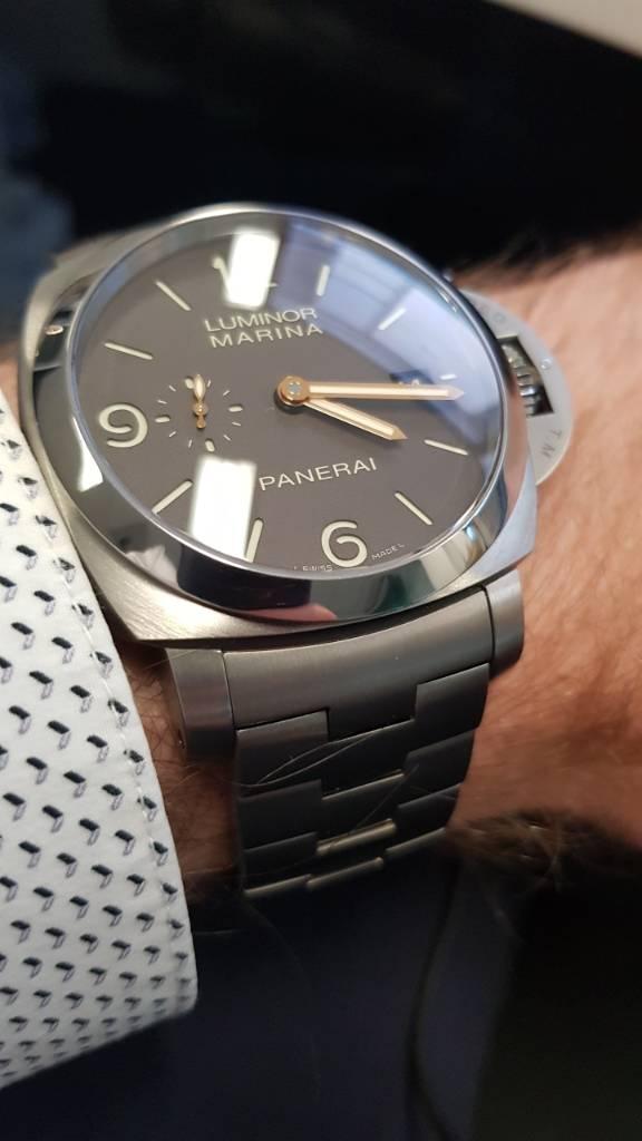 Panerai 352 Titanium and what to expect