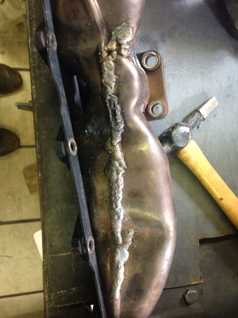 E46 330d exhaust manifold replacement