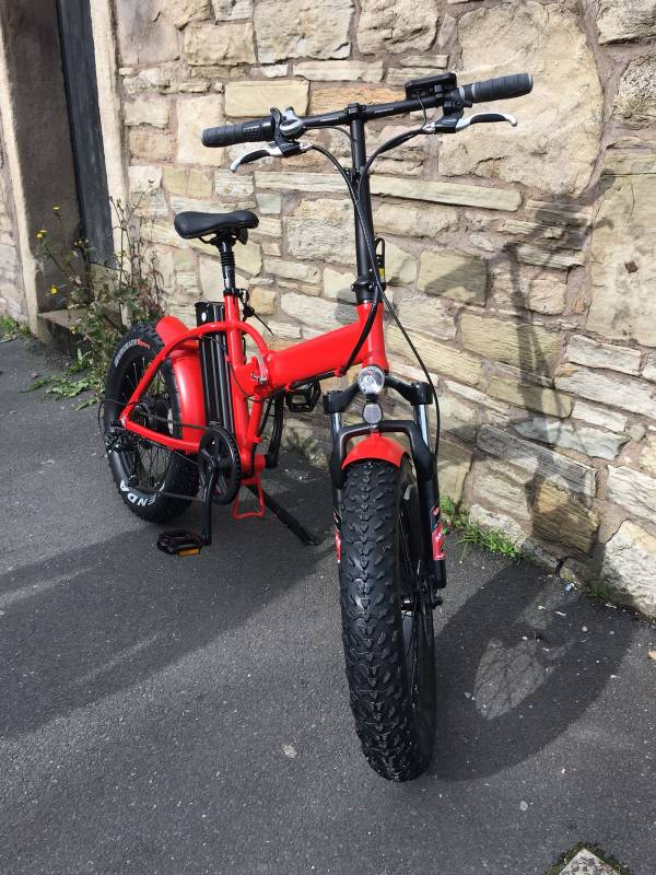 Folding Electric Fatbike Bicycle For Sale Pedelecs Electric Bike Community