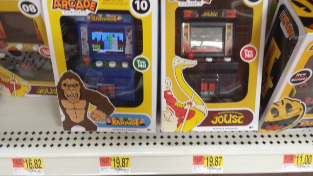 Just scored these at Wal-Mart  ARCADE CLASSICS - Page 15 - KLOV/VAPS