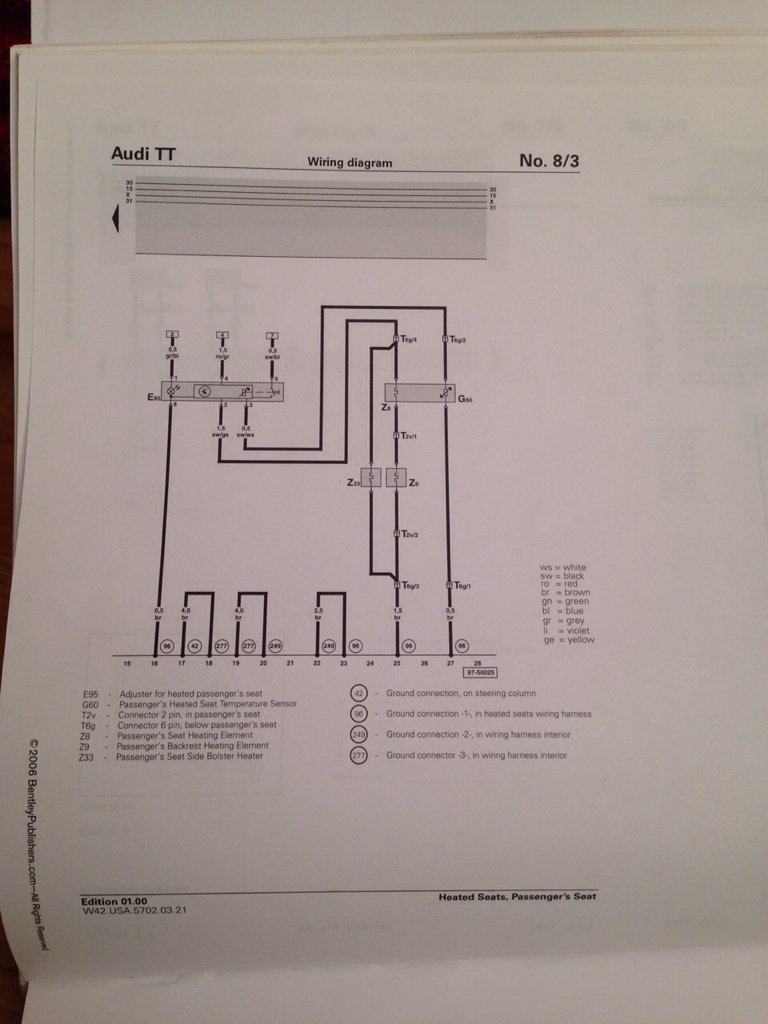 audi tt wiring diagram the audi tt forum     view topic seat heater wiring diagrams  the audi tt forum     view topic seat