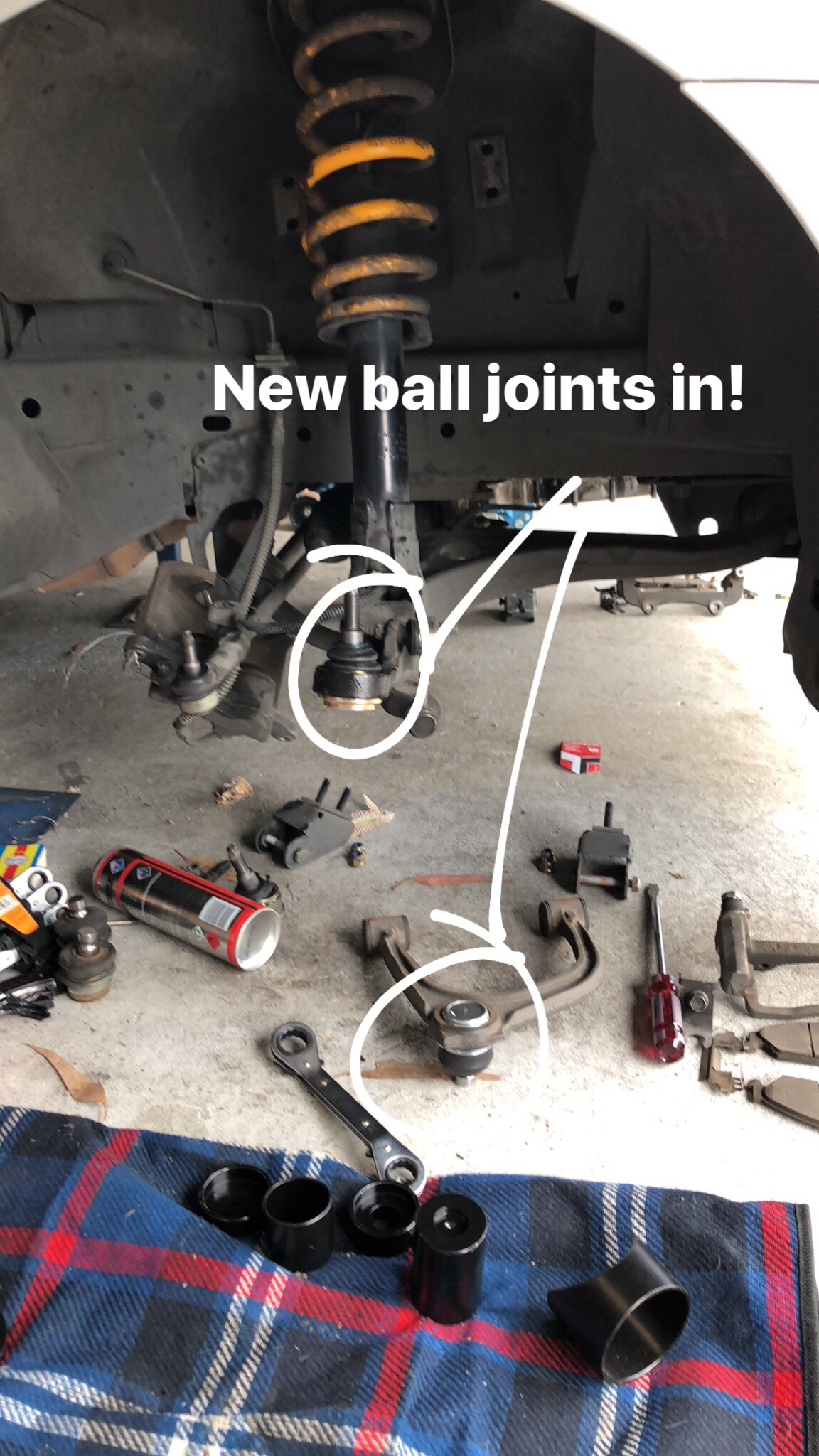 Photo Essay - Replacing Ba/bf Falcon Ball Joints