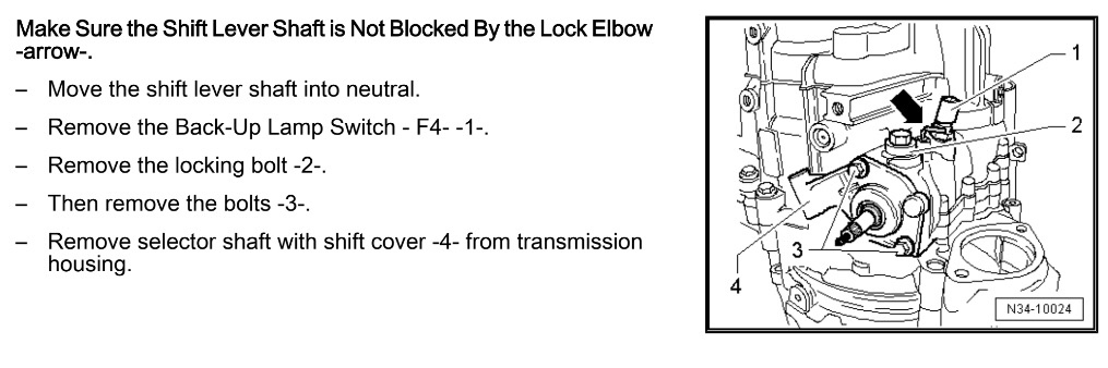 6MT trans selector lock lever & what to do if it breaks