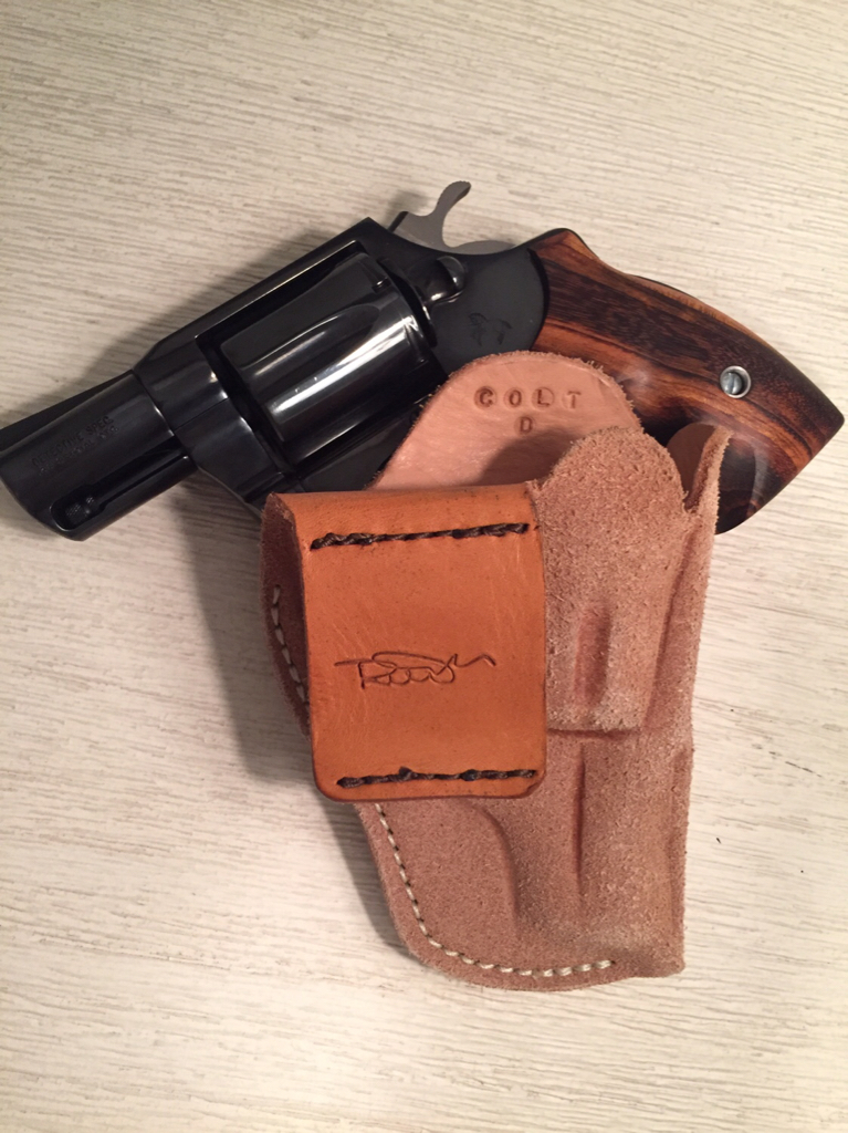 NC/SC - WTS Bobby Mac Colt D Frame Snub Holster - Works with S&W J