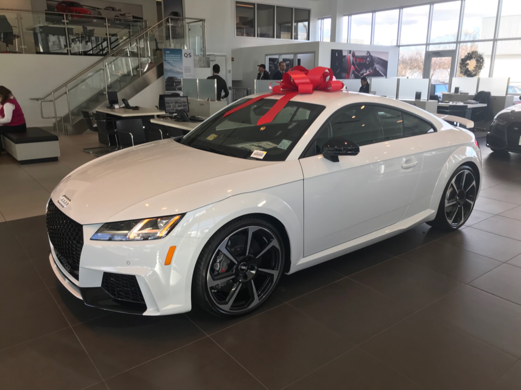 For Sale TTRS Glacier White Available Audi Tysons Corner - Audi tysons corner