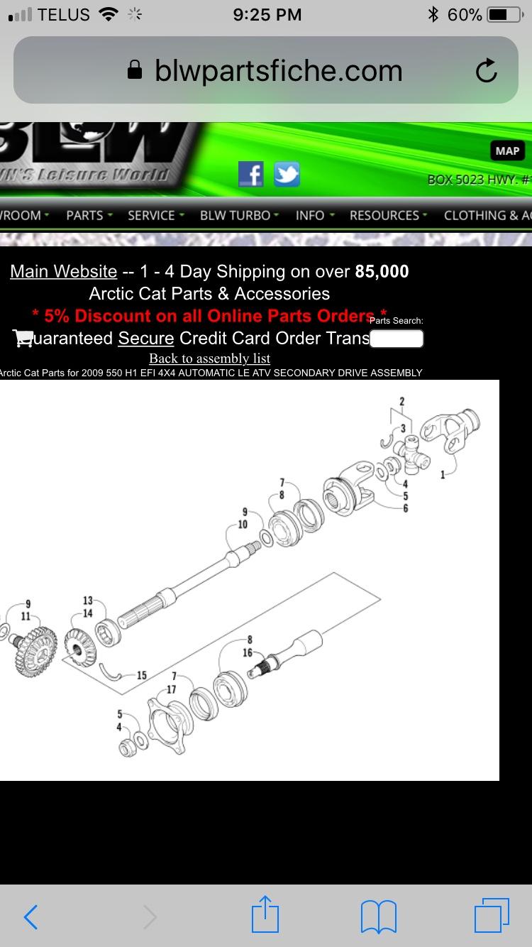2009 arctic cat 550 h1 clunking noise - ArcticChat com - Arctic Cat