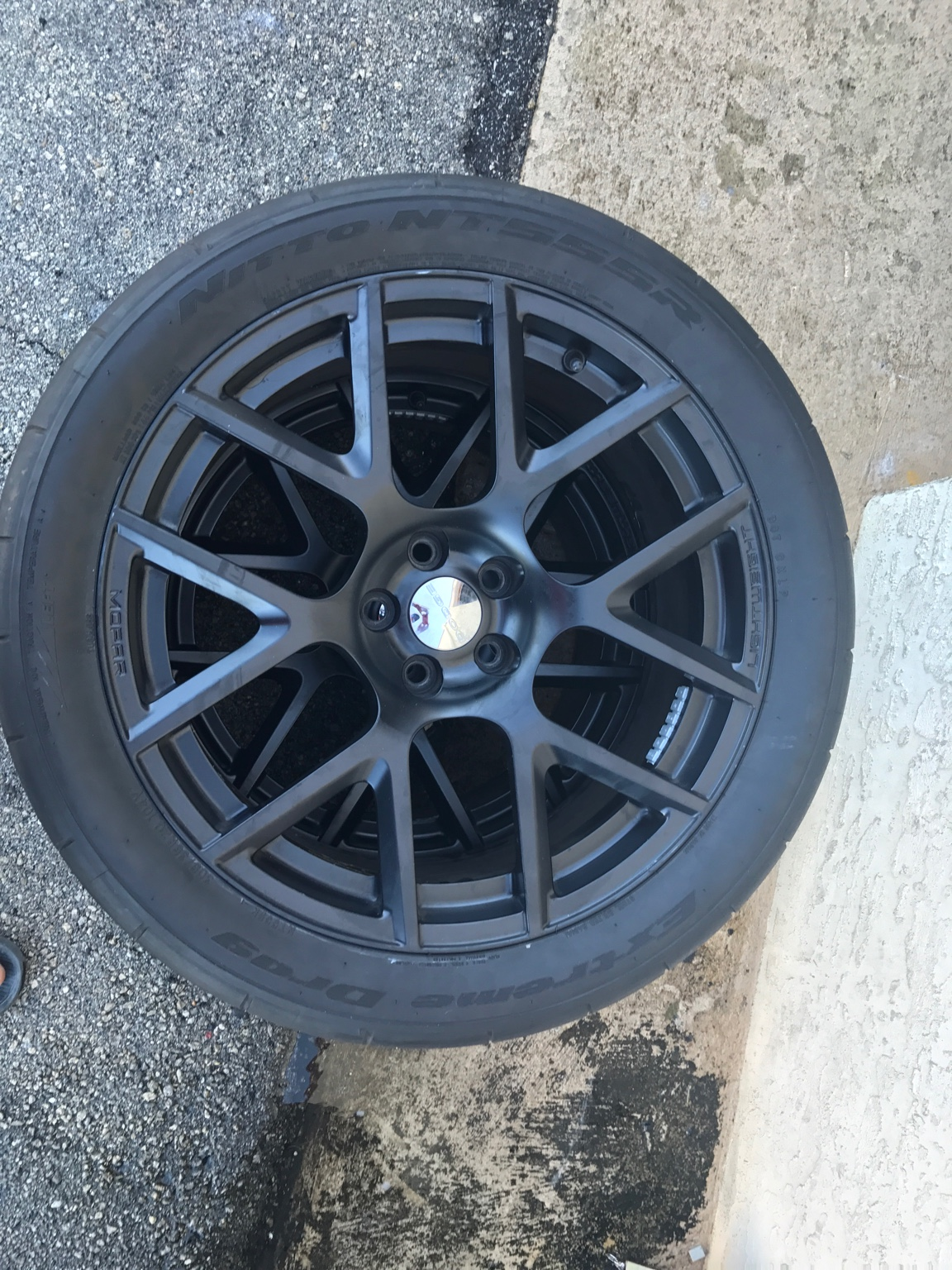 Used Tires Orlando >> FOR SALE 4 OEM WRT LIGHTWEIGHT/MOPAR STAMPED Satin Black ...