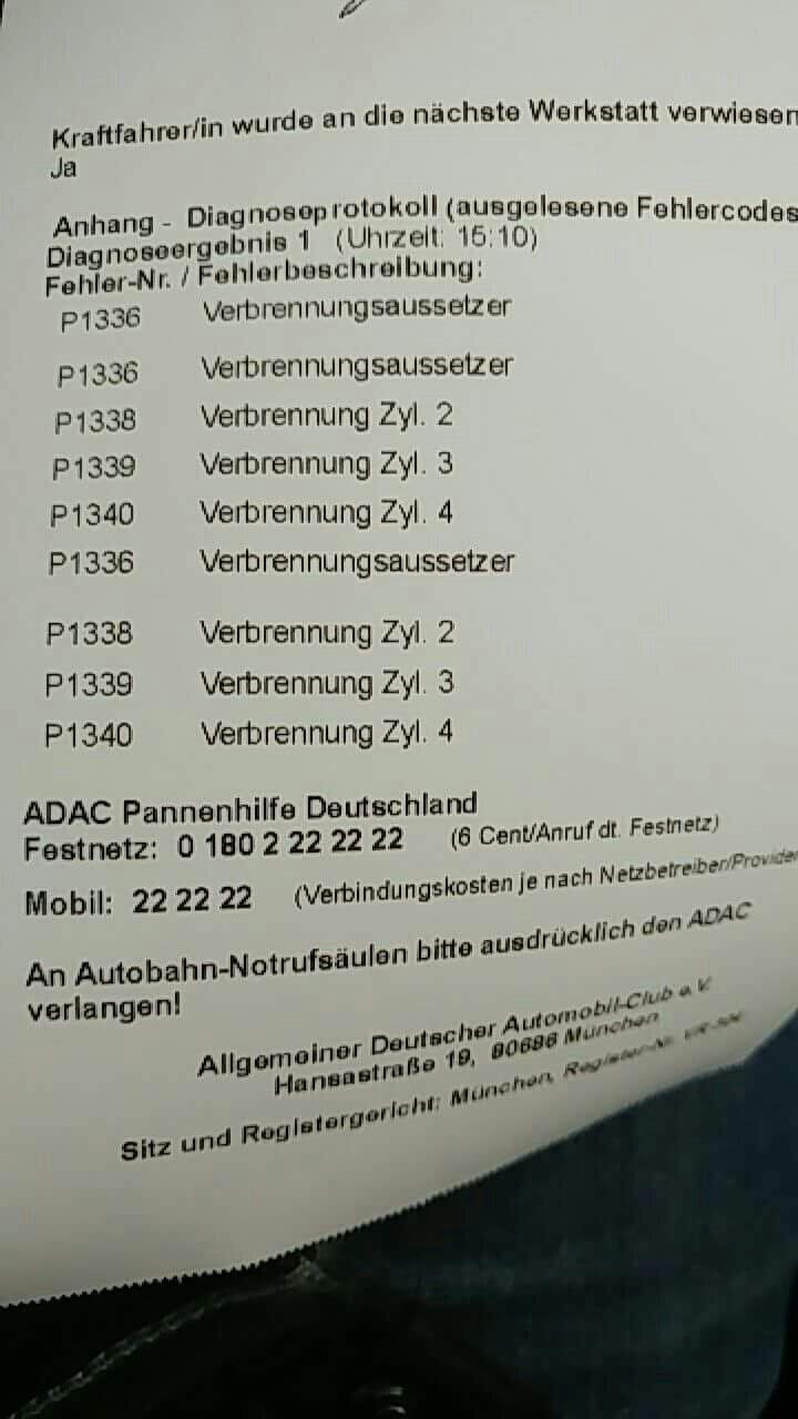 308 Der Neue - Motorfehler Fahrzeug instand setzen lassen