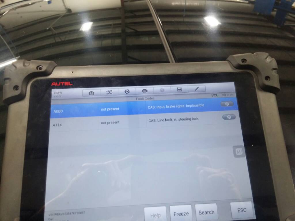 E90 Steering Lock Reset