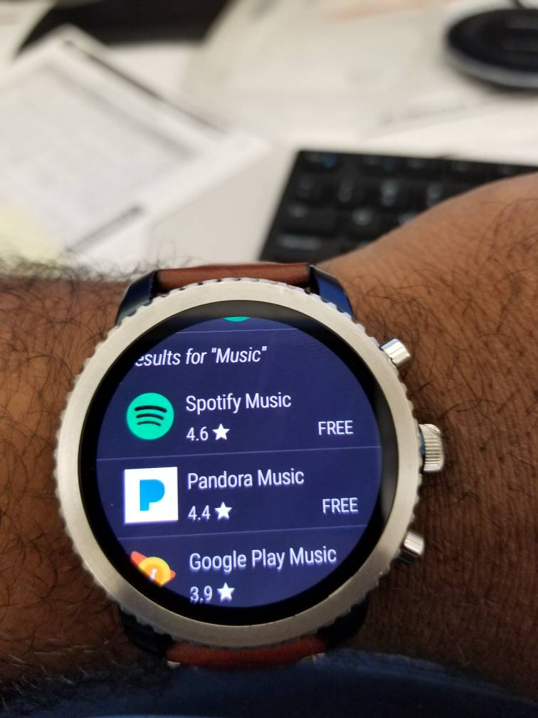 Fossil Q Founder - Google Music - Android Forums at