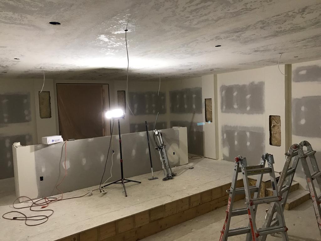 Theater Design Build Under Suspended Slab Garage Page 6