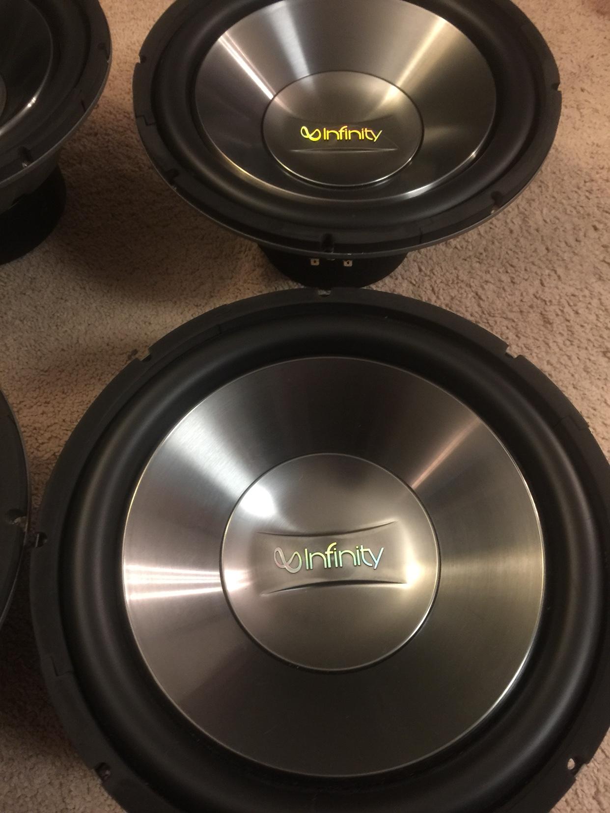 "12"" Infinity 1260 SVC sub (4) Indy — Polk Audio"