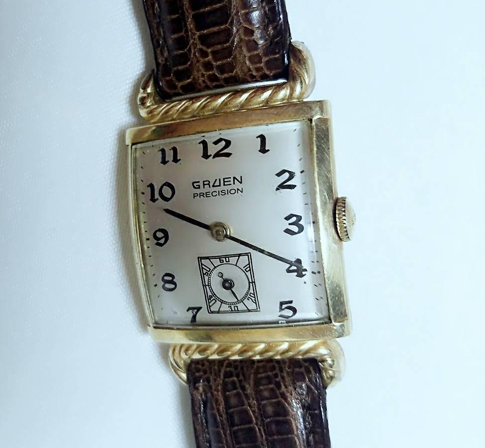 Đồng hồ xưa nữ lên dây GRUEN PRECISION