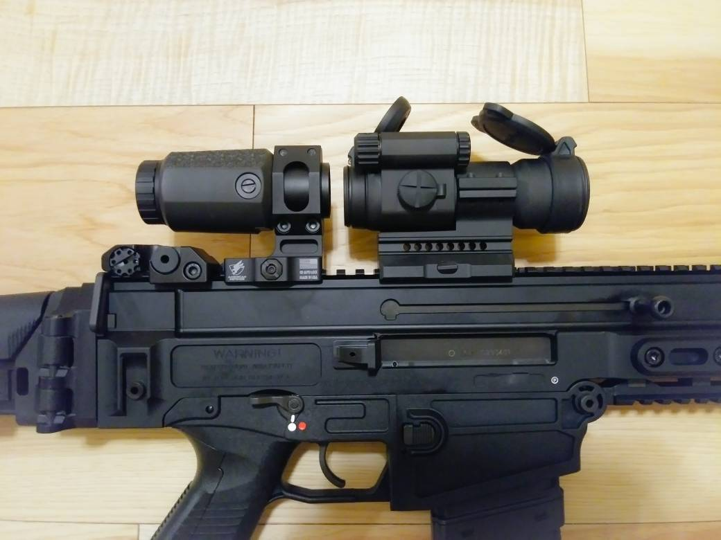 adm 1 3 co witness mount and aimpoint pro 1 3 alignment