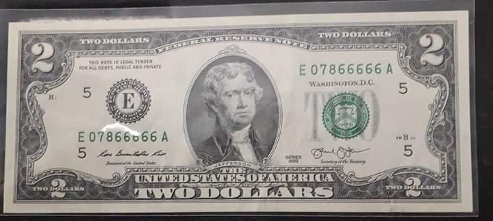 Tiền series 07866666