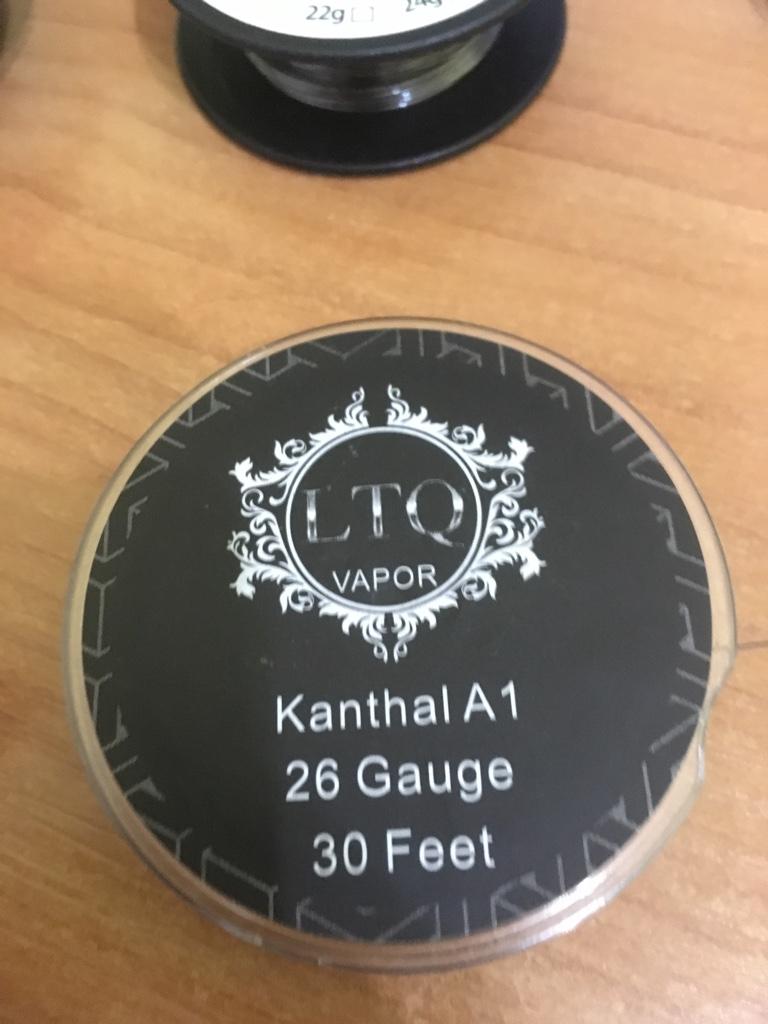 Неиспользуемые никель, титан, кантал, нихром, клэптон 602