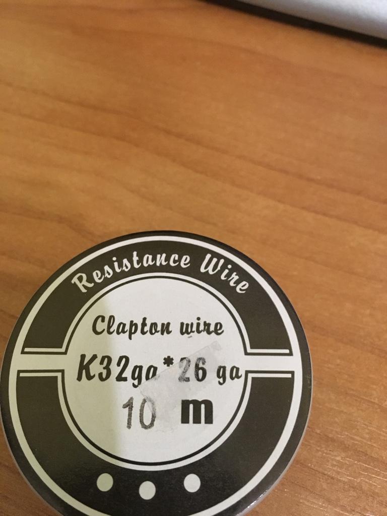 Неиспользуемые никель, титан, кантал, нихром, клэптон 844