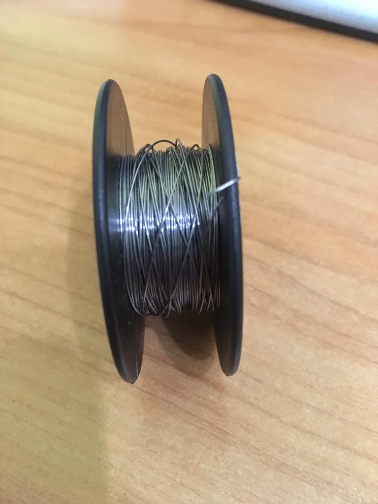 Неиспользуемые никель, титан, кантал, нихром, клэптон 680