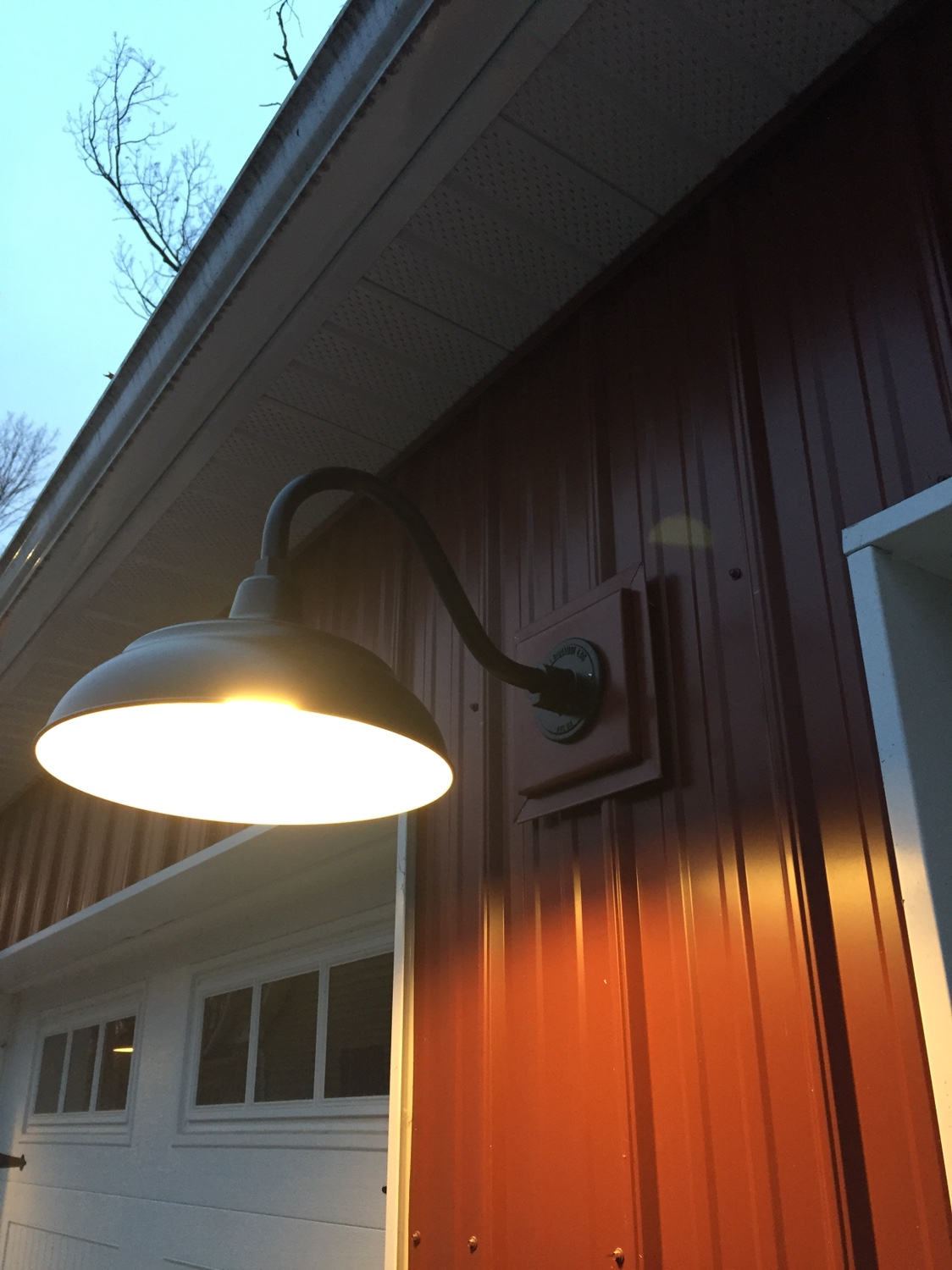 Mounting Lights Or Corrugated Metal Siding