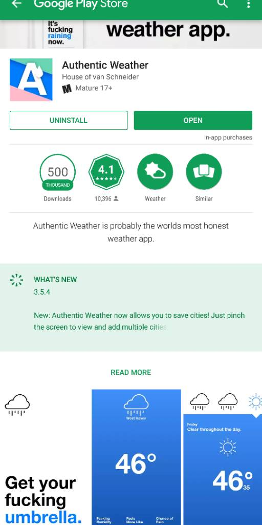 Which Weather Widget/App? - Android Forums at AndroidCentral com