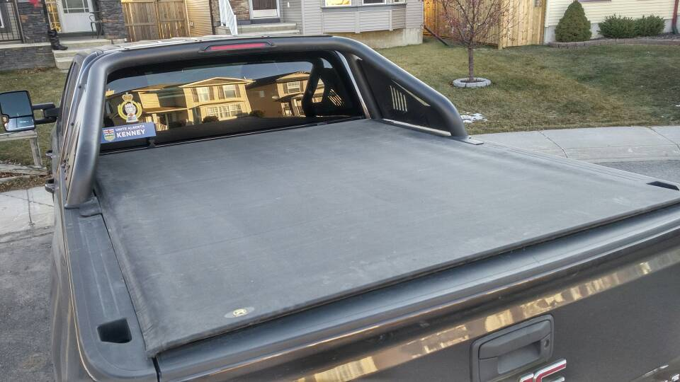 Bed cover with sport bar? - Page 11 - 2014 - 2018 Chevy ...