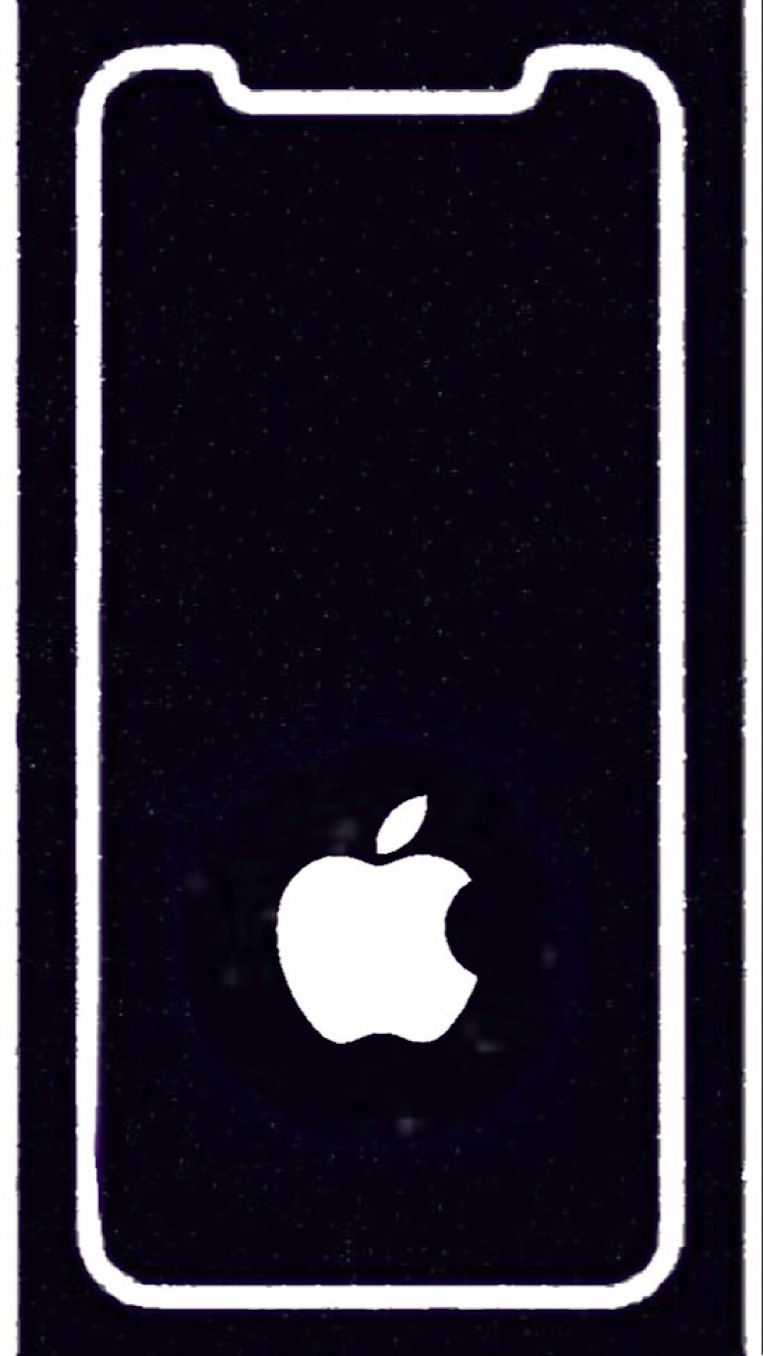 Iphone X Wallpaper Border Line