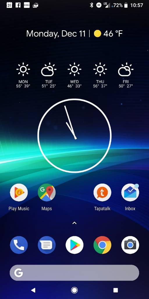 Which Weather Widget/App? - Page 2 - Android Forums at
