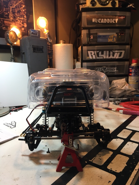 Big Oly tribute build - RCCrawler