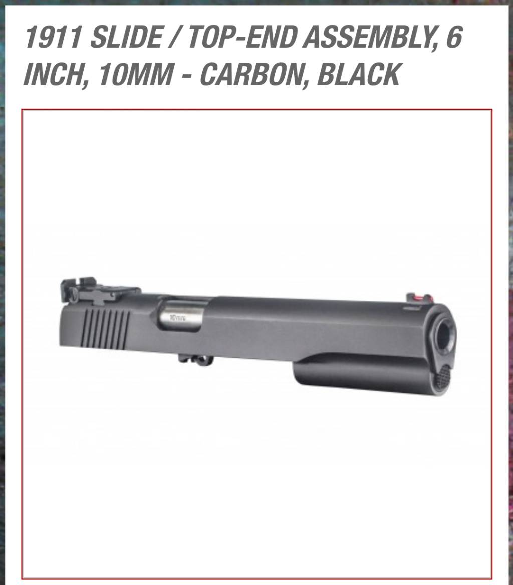 Springfield 10mm is here - 1911Forum