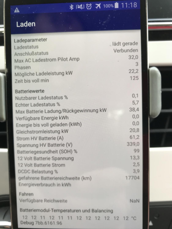 Zellen defekt laut CanZE? - ZOE - Batterie, Reichweite • Renault ZOE ...