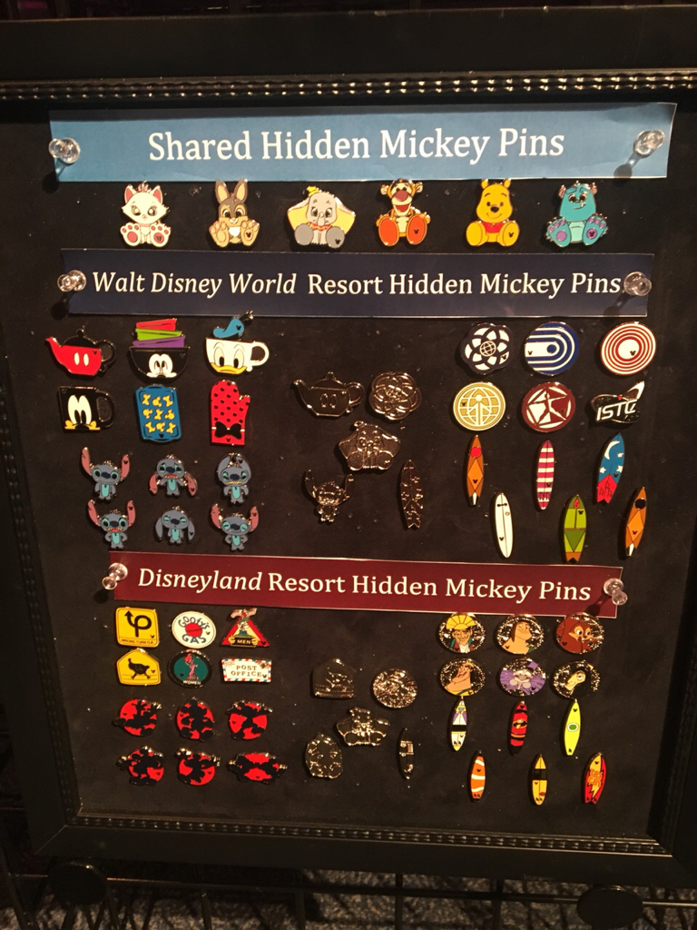 Disney Pin WDW 2018 Hidden Mickey Collection *Plush